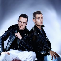 Joe Strummer & Paul Simonon - Clash duo